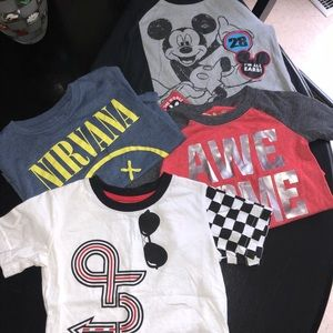 Other - Lot of 4 Toddler boys shirts!